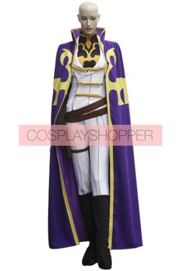 Code Geass Nonette Enneagram Cosplay Costume