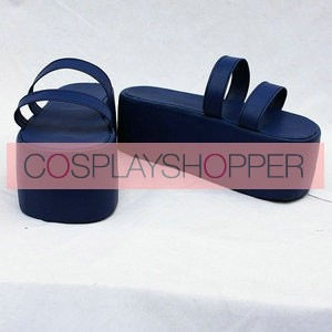 One Piece Blue Cosplay Shoes