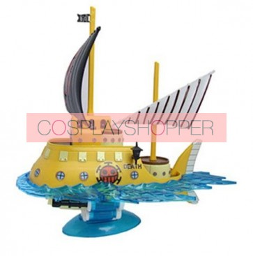 One Piece Boat Mini PVC Action Figure