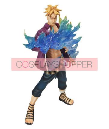 One Piece Marco Mini PVC Action Figure