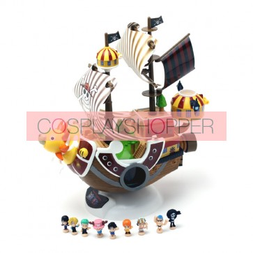 One Piece Mini PVC Action Figure Set