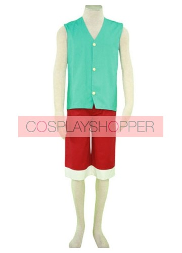 One Piece Monkey D. Luffy Cosplay Costume - 3rd Edition