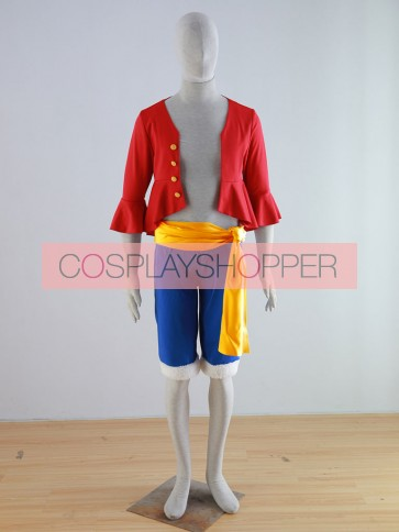 One Piece Monkey D. Luffy (Two Years Later) Cosplay Costume
