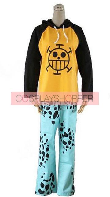 One Piece Trafalgar Law Cosplay Costume
