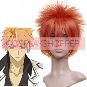 Orange 30cm Vampire Knight Akatsuki Kain Cosplay Wig