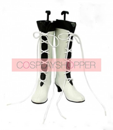 Pandora Hearts Alice Imitation Leather Rubber Cosplay Boots