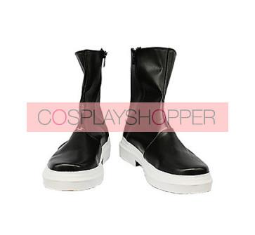Pandora Hearts Gilbert Nightray Black Cosplay Boots