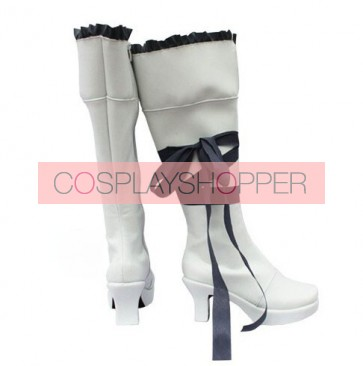 Pandora Hearts White Oz Vessalius Cosplay Boots