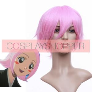 Pink 32cm Bleach Yachiru Kusajishi Cosplay Wig