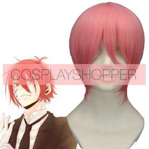 Pink 32cm Katekyo Hitman Reborn! G. Cosplay Wig