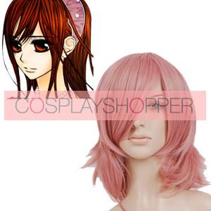 Pink 40cm Vampire Knight Kuran Yuuki Cosplay Wig