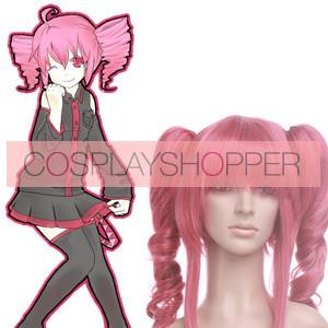 Pink 40cm Vocaloid Teto Cosplay Wig