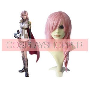 Pink 65cm Final Fantasy Lightning Cosplay Wig