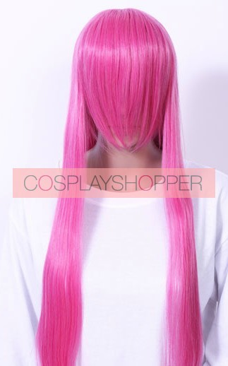 Pink 80cm Adventure Time Princess Bubblegum Cosplay Wig