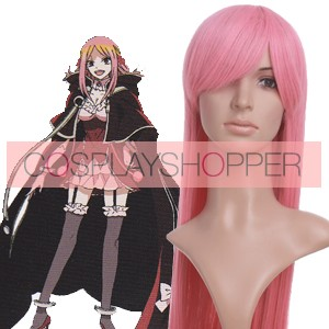 Pink 80cm Pandora Hearts Charlotte Cosplay Wig