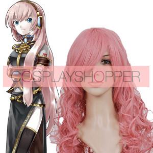 Pink 90cm Vocaloid Megurine Luka Nylon Cosplay Wig
