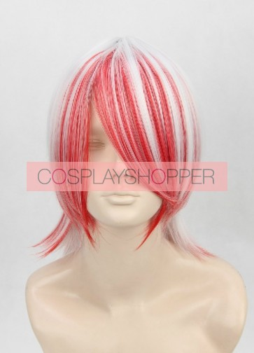 Pink And Gray 40cm Nura: Rise of the Yokai Clan Shoei Cosplay Wig