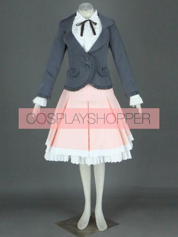 Pink Long Sleeves Cotton Sweet Lolita Costume