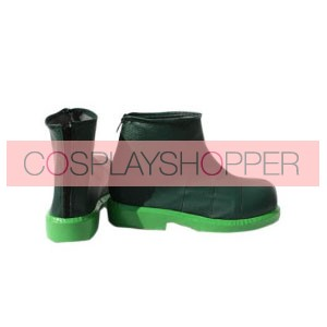 Pokemon Green Faux Leather Cosplay Shoes
