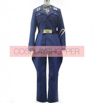 Axis Powers Hetalia Prussia Gilbert Beilschmidt Cosplay Costume