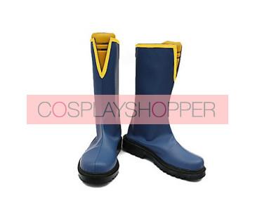 Puella Magi Madoka Magica Miki Sayaka Male Version Cosplay Boots