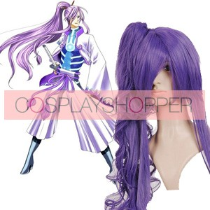 Purple 90cm Vocaloid Gakupo Nylon Cosplay Wig