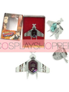 Purple Katekyo Hitman Reborn Simon Family Ring Set