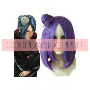 Purple Naruto Konan Cosplay Wig
