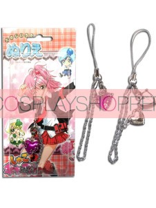 Purple Shugo Chara Alloy Cosplay Phone Strap