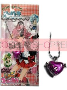 Purple Shugo Chara Alloy Pendant Necklace