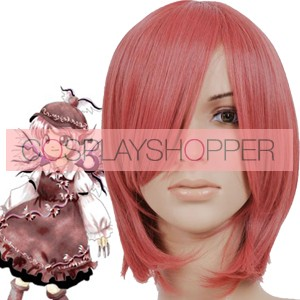 Red 35cm Tonhou Project Mystia Lorelei Cosplay Wig