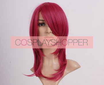 Red 45cm Soul Eater Death Scythe Nylon Cosplay Wig