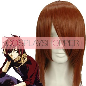 Red Brown 40cm D.Gray-man Lavi Cosplay Wig