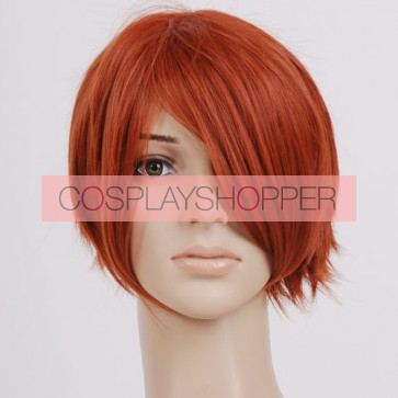 Red Brown Cosplay Wig