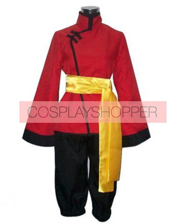 Axis Powers Hetalia Red Hong Kong Cosplay Costume