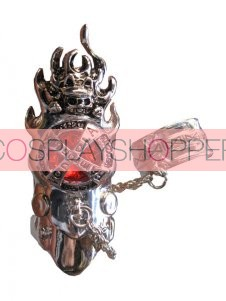 Red Katekyo Hitman Reborn Cosplay Fingerstall