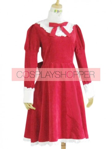 Axis Powers Hetalia Red Liechtenstein Cosplay Costume