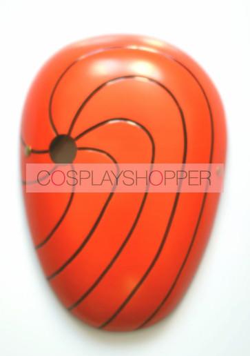 Red Naruto Uchiha Madara PVC Cosplay Mask
