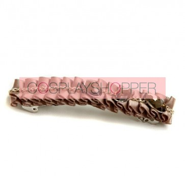 Retro Brown Women Handmade Lolita Hairpin