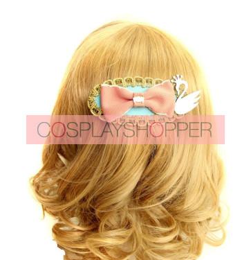 Retro Gorgeous Bow Lady Lolita Hairpin