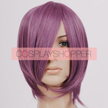 Rose Purple Straight Cosplay Wig