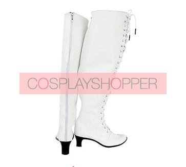 Rozen Maiden Kirakishou Imitation Leather Rubber Cosplay Boots