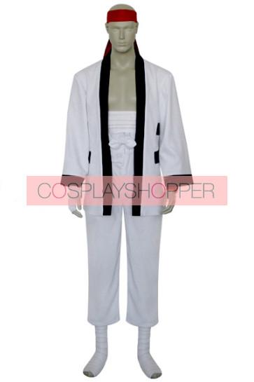 Rurouni Kenshin Sanosuke Sagara Cosplay Costume