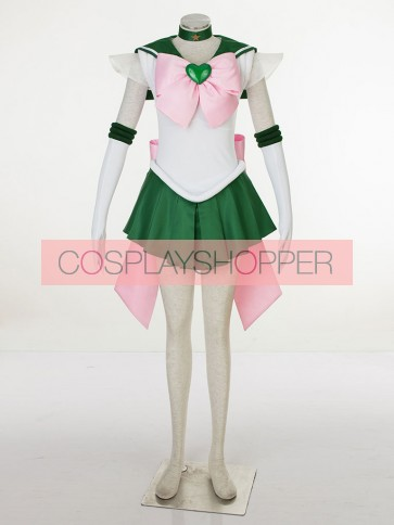 Sailor Moon SuperS Sailor Jupiter Kino Makoto Cosplay Costume