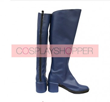 Sailor Moon Ami Mizuno Imitation Leather Cosplay Boots