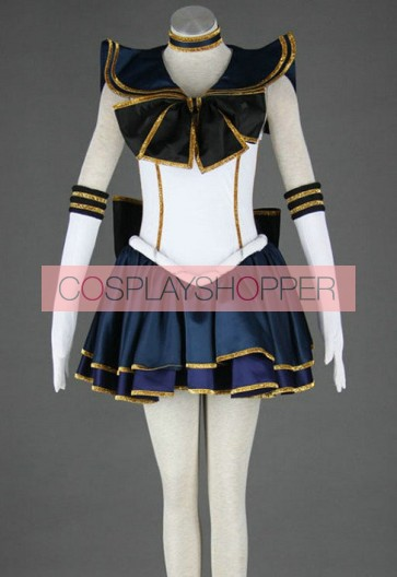 Sailor Moon Meiou Setsuna Sailor Pluto Cosplay Stiefeln