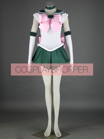 Sailor Moon Sailor Jupiter Lita Kino Cosplay Costume