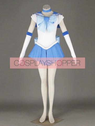Sailor Moon Sailor Mercury Amy Anderson Cosplay Costume