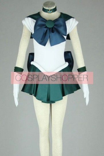 Sailor Moon Sailor Neptune Kaiou Michiru Cosplay Costume