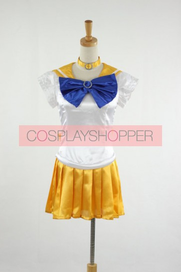 Sailor Moon Sailor Venus Minako Aino Cosplay Costume